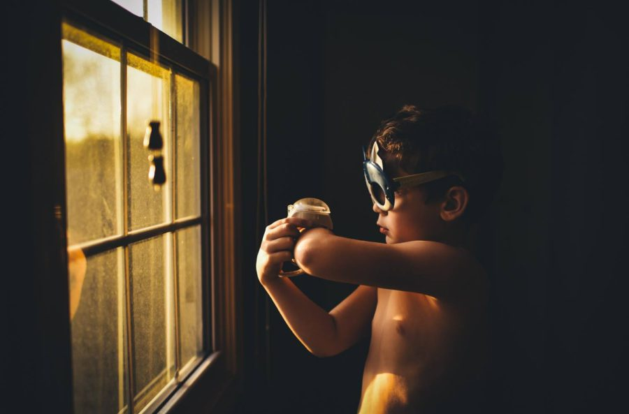 boy dressed as superhero, daily fan favorite