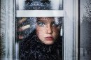 child looking out window, winter window reflection, Bree Friesen Daily Fan Favorite on Beyond the Wanderlust