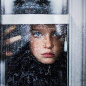 child looking out window, winter window reflection, Bree Friesen Daily Fan Favorite on Beyond the Wanderlust
