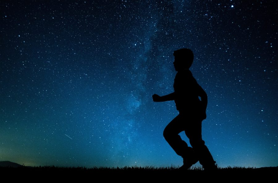 Silhouette of child against starry sky, Daily Fan Favorite on Beyond the Wanderlust