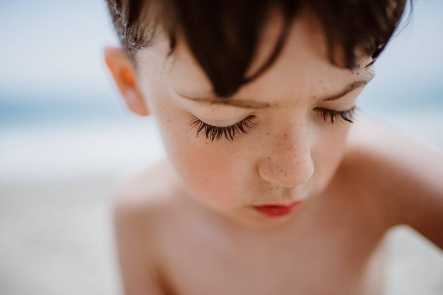 Close up of boys eyelashes, Daily Fan Favorite on Beyond the Wanderlust