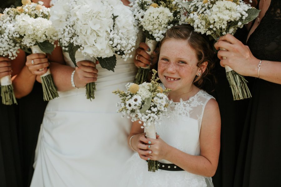 Wild Soul Weddings - Iowa & Destination Wedding Photography & Videography - Flower Girl - Wedding portraits