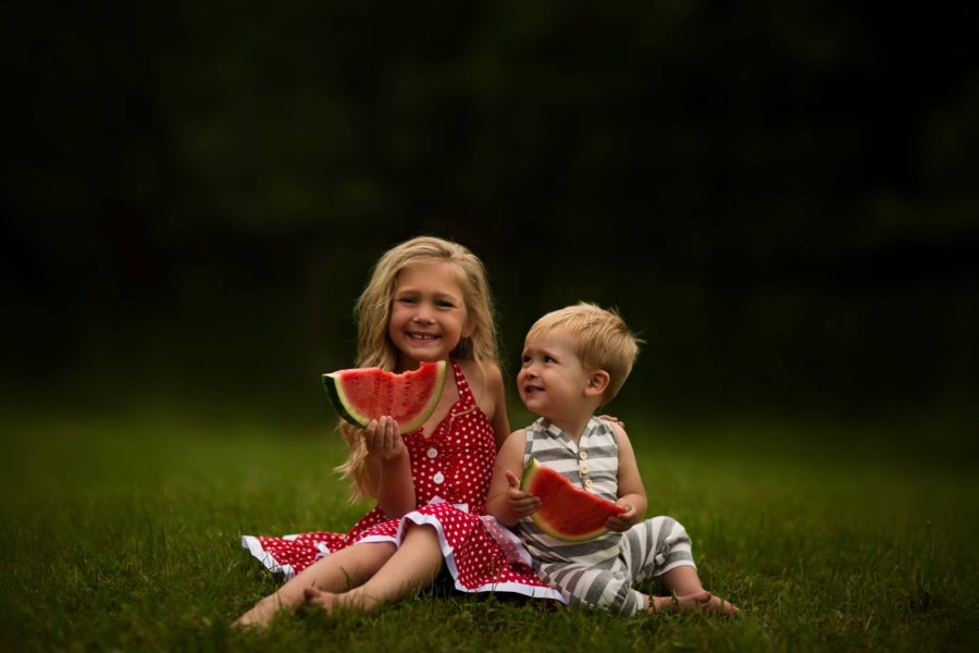 Kids smiling with watermelon, Daily Fan Favorites on Beyond the Wanderlust