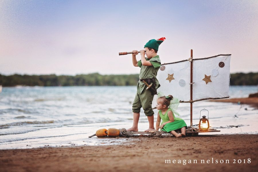 Peter Pan and Tinkerbell dress up, Meagan Nelson Photography Daily Fan Favorite